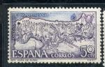Stamps Spain -  Mapa de rutas