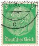 Sellos de Europa - Alemania -  Paul von Hindenburg