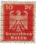 Sellos de Europa - Alemania -  Escudo nacional. Deutsches Reich