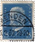 Stamps Germany -  Paul von Hindenburg .