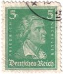 Sellos de Europa - Alemania -  Friedrich Von Schiller
