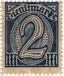 Stamps Germany -  Cifras.Reich 1922 Dienftmarke