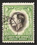 Stamps Africa - Namibia -  Coronación de George VI