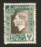 Sellos del Mundo : Africa : Sudáfrica : Coronación de Jorge VI