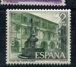 Sellos de Europa - España -  plaza del campo (lugo)