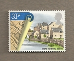 Stamps United Kingdom -  Renovación urbana