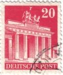 Sellos de Europa - Alemania -  Puerta de Brandeburgo