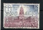 Stamps Spain -  Palacio de Congresos (Buenos Aires)