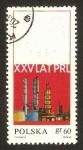 Sellos de Europa - Polonia -  1782 - XXV anivº de la República popular, Petroquímica de Plock