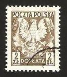 Sellos de Europa - Polonia -  escudo de armas