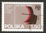 Sellos del Mundo : Europa : Polonia : 2473 - 50 anivº de la Unión Internacional de Telecomunicaciones