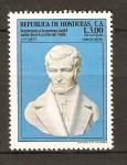 Stamps Honduras -  BUSTO  DE  JOSÉ  CECILIO  DEL  VALLE