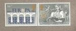 Stamps United Kingdom -  2 ª Elección parlamento europeo