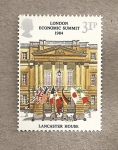 Sellos de Europa - Reino Unido -  Cumbre económica en Londres