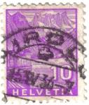 Stamps Switzerland -  Paisaje. Helvetia