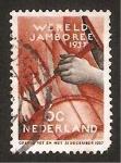 Sellos de Europa - Holanda -  wereld jamboree