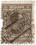 Sellos de Europa - Eslovenia -  El Reino de los Serbios, Croatas y Eslovenos