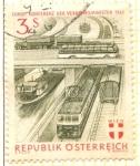 Sellos de Europa - Austria -  Trenes