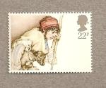 Sellos de Europa - Reino Unido -  Navidades 1984