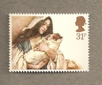 Stamps United Kingdom -  Navidades 1984