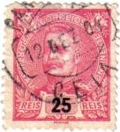 Stamps Portugal -  Carlos I de Portugal