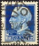 Stamps : Europe : Italy :  VITTORIO EMANUELE III