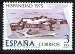 Stamps Spain -  2295 Hispanidad. Uruguay. Fortaleza de Santa Teresa.