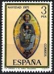 Sellos de Europa - España -  2300 Navidad 1975. La Virgen y el Niño, Navarra.