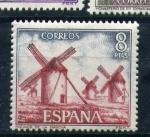 Stamps Europe - Spain -  molinos de la mancha