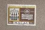 Sellos de Asia - Macao -  1er Centenario Fundación Banco Nacional