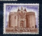Sellos de Europa - España -  Puerta de bisagra. Toledo