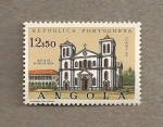Stamps Angola -  Iglesia