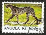 Stamps Africa - Angola -  pantera