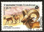 Sellos del Mundo : Asia : Uzbekistán : ovis ammon cycloceros