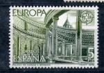 Stamps Spain -  palacio de carlos V. granada