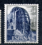 Stamps Europe - Spain -  noria arabe. alcantarilla. murcia