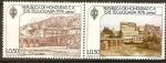 Stamps America - Honduras -  TEGUCIGALPA,  ANTES  Y  DESPUÉS