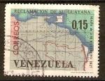 Sellos del Mundo : America : Venezuela : MAPA  DE  VENEZUELA  Y  GUAYANA