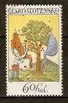 Stamps Czechoslovakia -  ARTE  FOLKLÓRICO