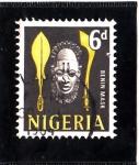 Stamps Africa - Nigeria -  BENIN MASK