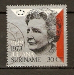 Stamps America - Suriname -  REINA  JULIANA