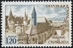 Sellos de Europa - Francia -  Edificios y monumentos