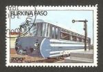 Stamps Burkina Faso -  tren