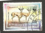 Stamps Niger -  WWF - 1166 - Fauna, gazella dorcas
