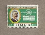 Stamps Asia - East Timor -  1er Centenario fundación Banco Nacional ultramarino