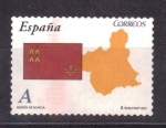 Stamps of the world : Spain :  región de murcia