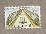 Stamps Guinea Bissau -  40 Aniv de la revolución Nacional