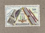 Sellos de Europa - Mozambique -  40 Aniv de la revolución Nacional