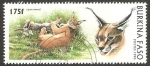 Stamps Africa - Burkina Faso -  lince