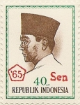 Stamps Indonesia -  REPUBLIK INDONESIA 65